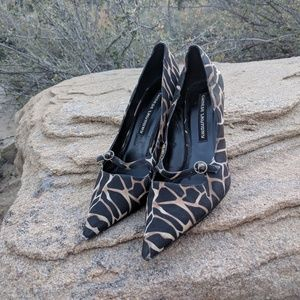 Chinese Laundry Animal Print Witch Toe Heels 7.5